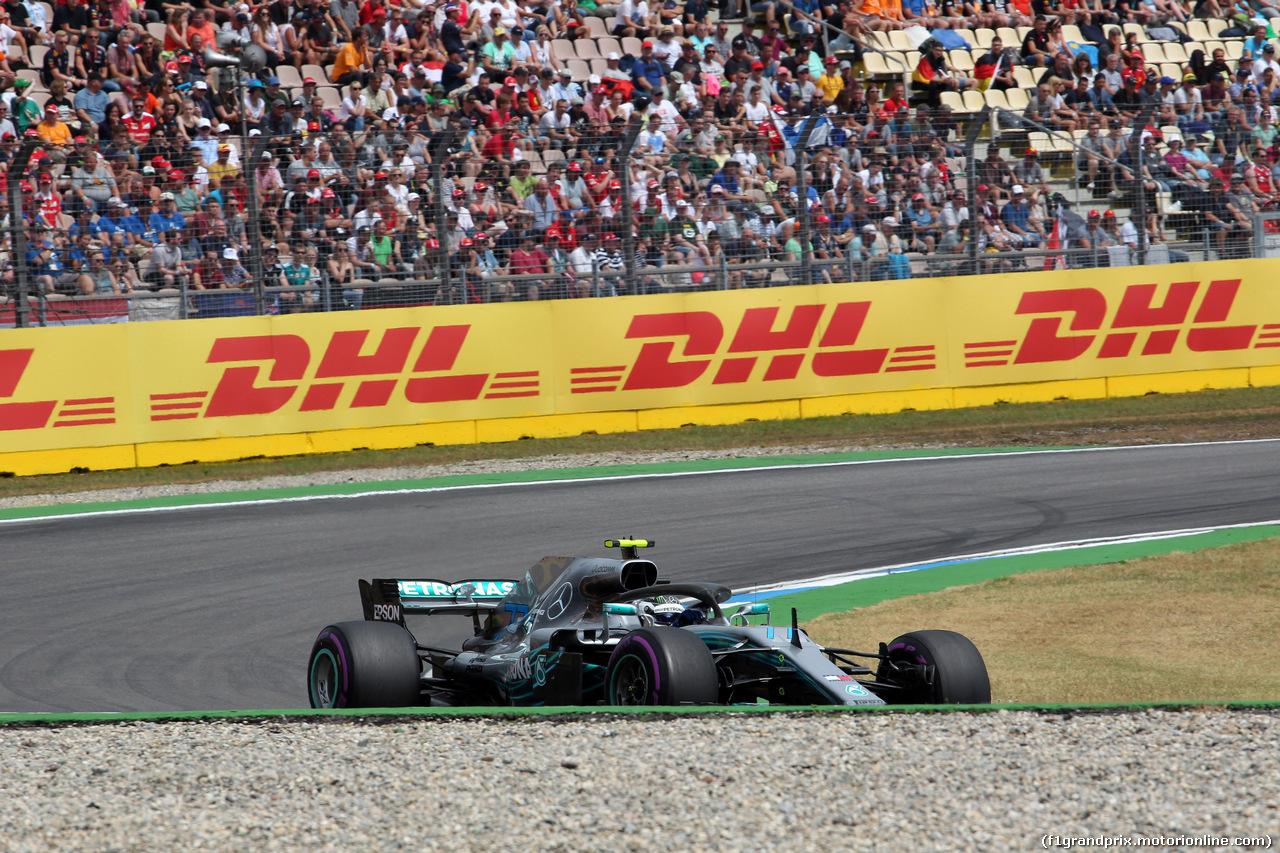GP GERMANIA, 21.07.2018 - Qualifiche, Valtteri Bottas (FIN) Mercedes AMG F1 W09