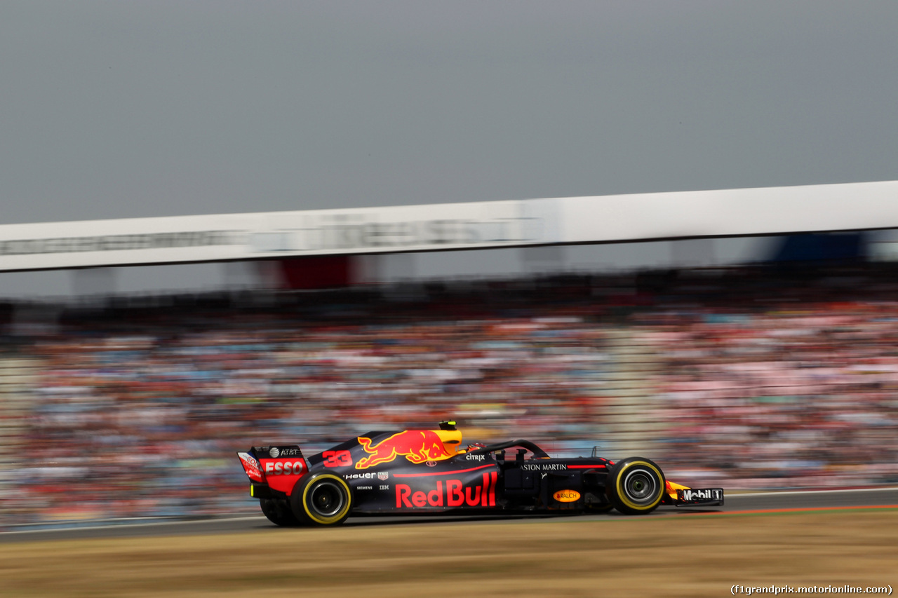 GP GERMANIA, 21.07.2018 - Qualifiche, Max Verstappen (NED) Red Bull Racing RB14