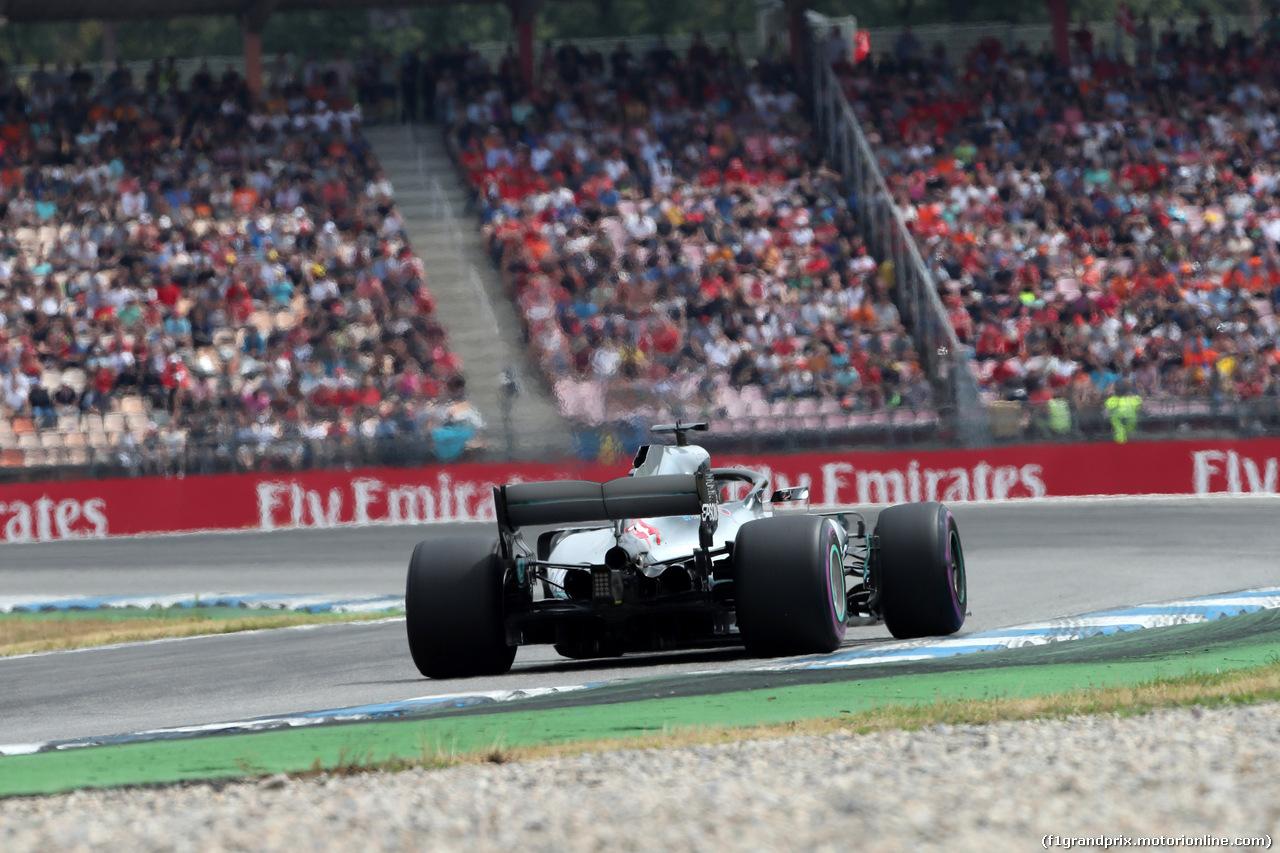 GP GERMANIA, 21.07.2018 - Qualifiche, Lewis Hamilton (GBR) Mercedes AMG F1 W09
