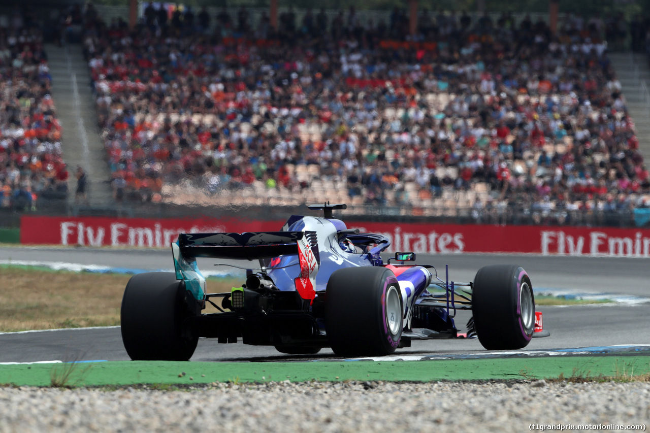 GP GERMANIA, 21.07.2018 - Qualifiche, Brendon Hartley (NZL) Scuderia Toro Rosso STR13