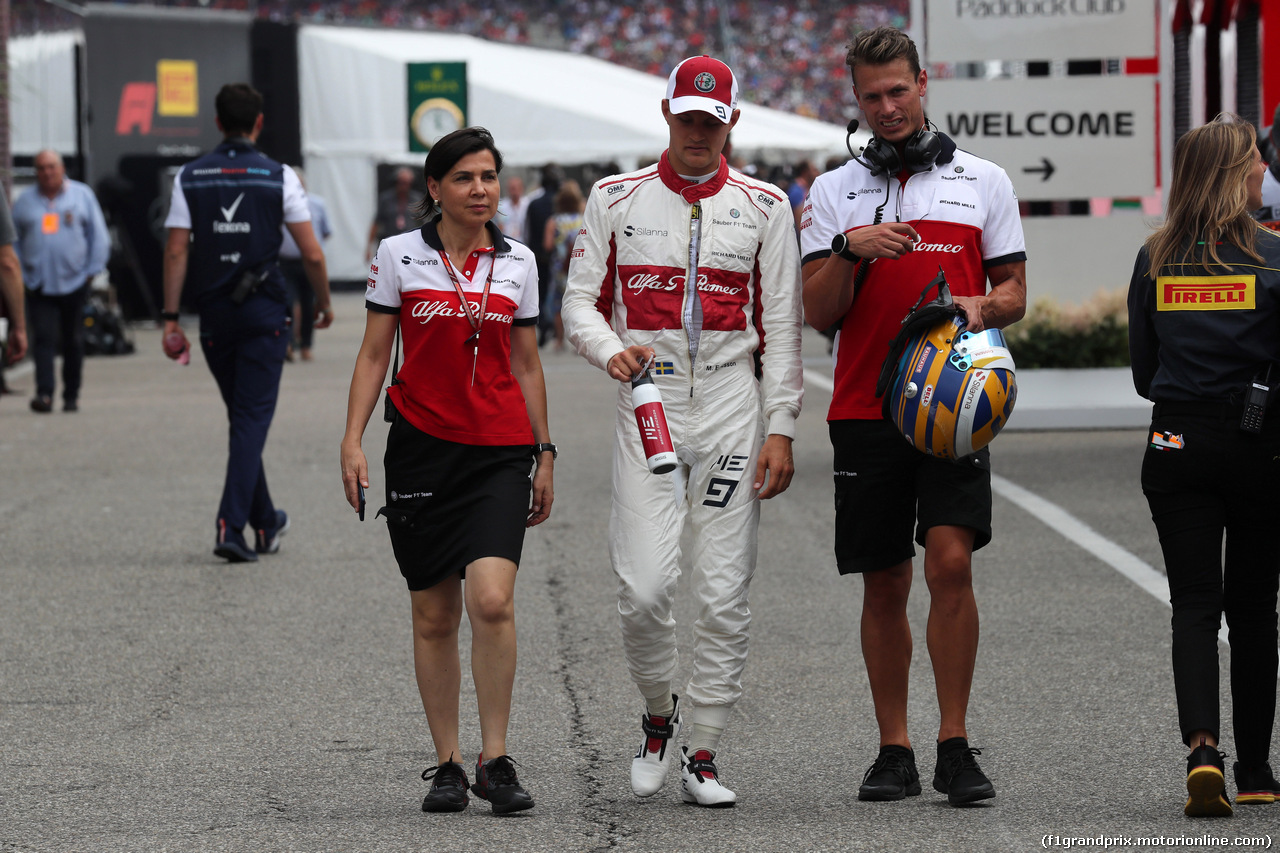 GP GERMANIA, 21.07.2018 - Qualifiche, Marcus Ericsson (SUE) Sauber C37