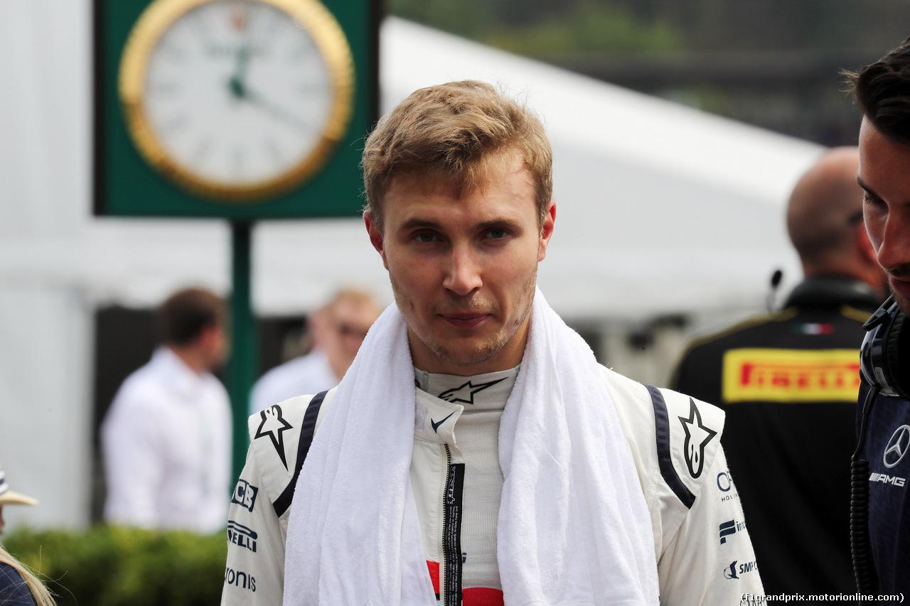 GP GERMANIA, 21.07.2018 - Qualifiche, Sergey Sirotkin (RUS) Williams FW41