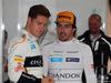 GP GERMANIA, 21.07.2018 - Free Practice 2, Stoffel Vandoorne (BEL) McLaren MCL33 e Fernando Alonso (ESP) McLaren MCL33