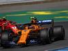 GP GERMANIA, 20.07.2018 - Free Practice 2, Stoffel Vandoorne (BEL) McLaren MCL33 e Kimi Raikkonen (FIN) Ferrari SF71H