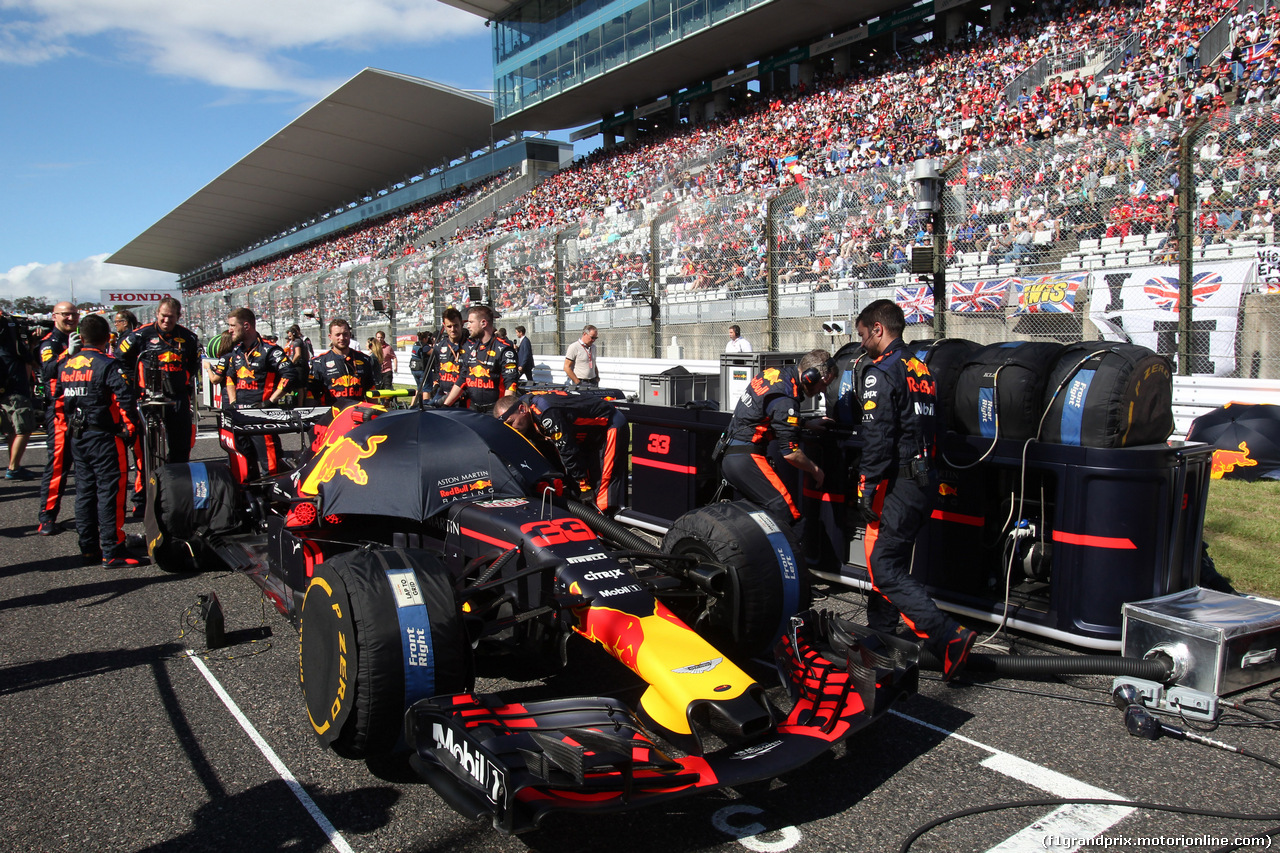 GP GIAPPONE, 07.10.2018 - Gara, Max Verstappen (NED) Red Bull Racing RB14