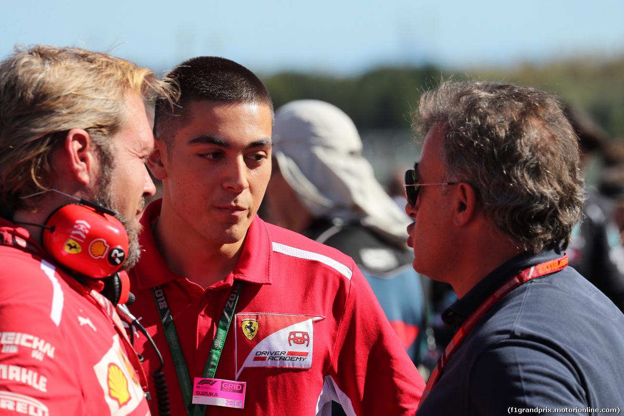 GP GIAPPONE, 07.10.2018 - Gara, Giuliano Alesi (FRA) Trident e his father Jean Alesi (FRA)