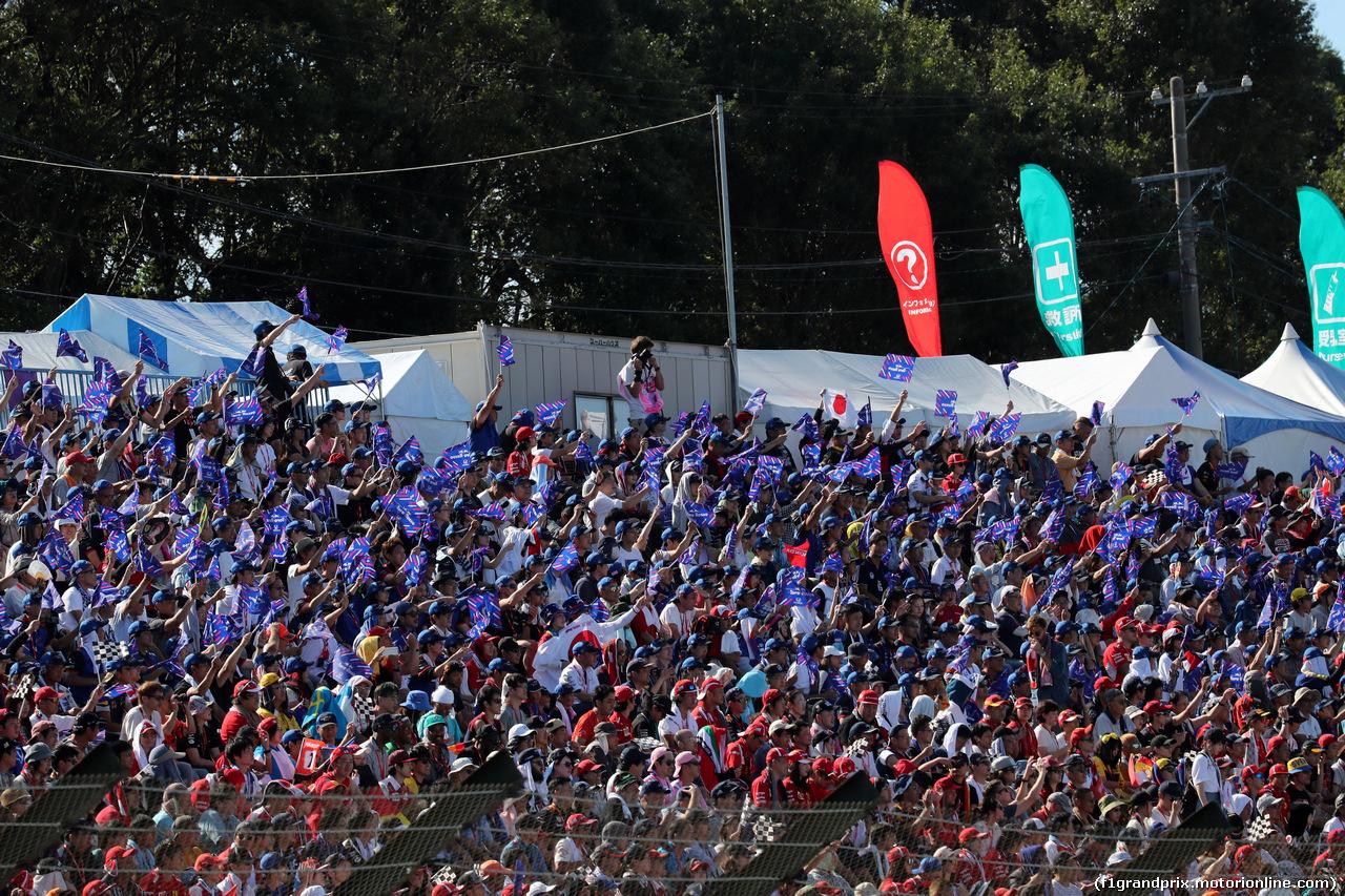 GP GIAPPONE, 07.10.2018 - Gara, Fans