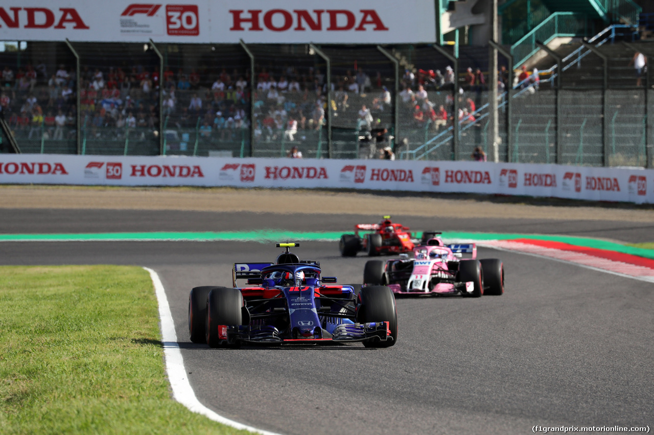 GP GIAPPONE, 07.10.2018 - Gara, Pierre Gasly (FRA) Scuderia Toro Rosso STR13