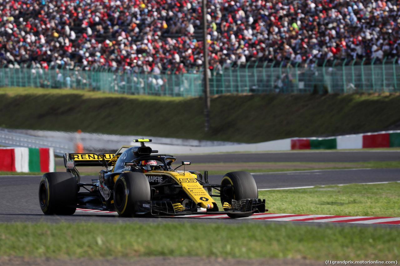 GP GIAPPONE, 07.10.2018 - Gara, Carlos Sainz Jr (ESP) Renault Sport F1 Team RS18