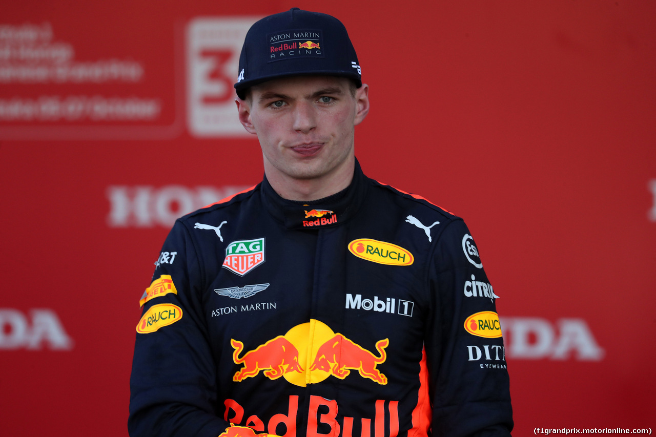GP GIAPPONE, 07.10.2018 - Gara, 3rd place Max Verstappen (NED) Red Bull Racing RB14