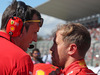 GP GIAPPONE, 07.10.2018 - Gara, Riccardo Adami (ITA) Ferrari Gara Engineer e Sebastian Vettel (GER) Ferrari SF71H