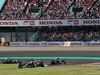 GP GIAPPONE, 07.10.2018 - Gara, Lewis Hamilton (GBR) Mercedes AMG F1 W09 davanti a Valtteri Bottas (FIN) Mercedes AMG F1 W09