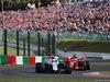 GP GIAPPONE, 07.10.2018 - Gara, Sergey Sirotkin (RUS) Williams FW41 davanti a Sebastian Vettel (GER) Ferrari SF71H