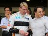 GP GIAPPONE, 05.10.2018 - Mika Hakkinen (FIN), ex F1 driver e Felipe Massa (BRA)
