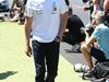 GP GRAN BRETAGNA, 08.07.2018- driver parade, Valtteri Bottas (FIN) Mercedes AMG F1 W09