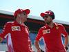 GP GRAN BRETAGNA, 08.07.2018- driver parade, Sebastian Vettel (GER) Ferrari SF71H