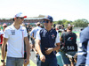 GP GRAN BRETAGNA, 08.07.2018- driver parade,  Lance Stroll (CDN) Williams FW41 e Esteban Ocon (FRA) Sahara Force India F1 VJM11