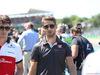 GP GRAN BRETAGNA, 08.07.2018- driver parade,  Romain Grosjean (FRA) Haas F1 Team VF-18