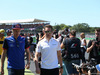 GP GRAN BRETAGNA, 08.07.2018- Driver parade,  Brendon Hartley (FRA) Scuderia Toro Rosso STR13 e Stoffel Vandoorne (BEL) McLaren MCL33