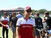 GP GRAN BRETAGNA, 08.07.2018- driver parade, Marcus Ericsson (SUE) Alfa Romeo Sauber C37