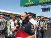 GP GRAN BRETAGNA, 08.07.2018- Gara, partenzaing grid: Adrian Newey (GBR), Red Bull Racing Technical Operations Directo