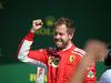 GP GRAN BRETAGNA, 08.07.2018- Festeggiamenti in parc fermee,  Sebastian Vettel (GER) Ferrari SF71H