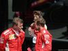 GP GRAN BRETAGNA, 08.07.2018- Festeggiamenti in parc fermee,  winner Sebastian Vettel (GER) Ferrari SF71H e Kimi Raikkonen (FIN) Ferrari SF71H