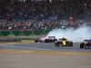 GP GRAN BRETAGNA, 08.07.2018- Gara, Sergio Perez (MEX) Sahara Force India F1 VJM11 spin