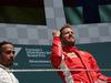 GP GRAN BRETAGNA, 08.07.2018- Podium, winner Sebastian Vettel (GER) Ferrari SF71H, 2nd place Lewis Hamilton (GBR) Mercedes AMG F1 W09