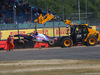 GP GRAN BRETAGNA, 07.07.2018- Free practice 3, Brendon Hartley (FRA) Scuderia Toro Rosso STR13 CRASH
