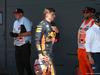 GP GRAN BRETAGNA, 07.07.2018- Qualifiche Parc ferme Max Verstappen (NED) Red Bull Racing RB14