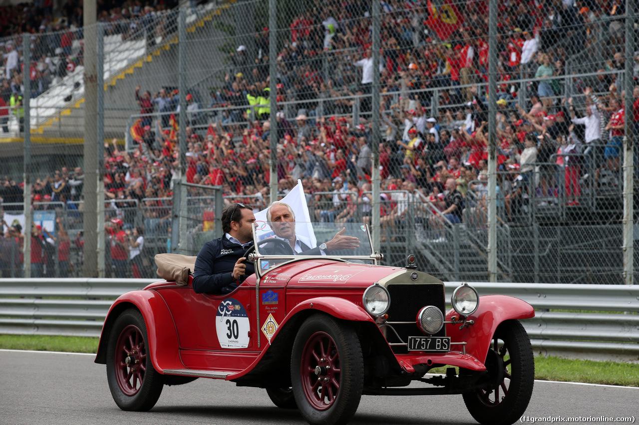 GP ITALIA, 02.09.2018 - Drivers parade, Giovanni Malagò, CONI President