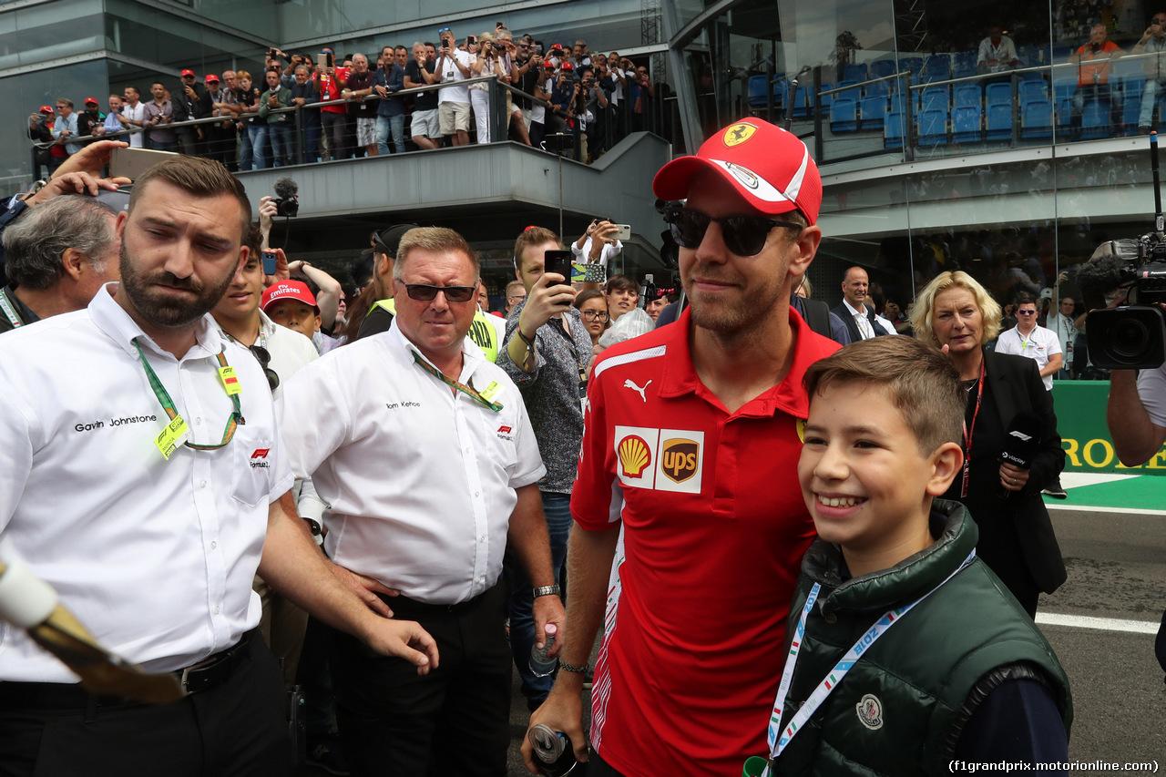 GP ITALIA, 02.09.2018 - Sebastian Vettel (GER) Ferrari SF71H