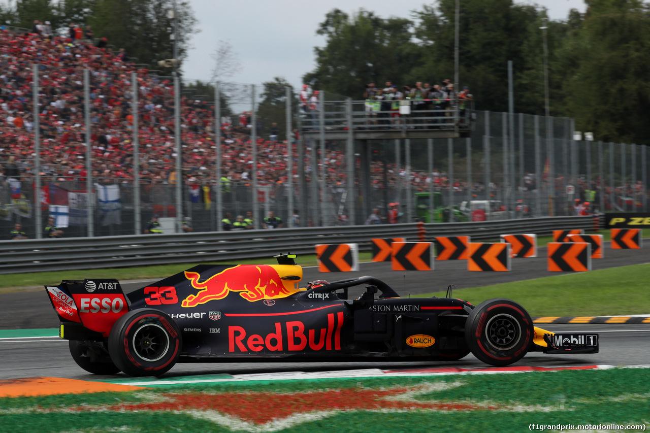 GP ITALIA, 02.09.2018 - Gara, Max Verstappen (NED) Red Bull Racing RB14