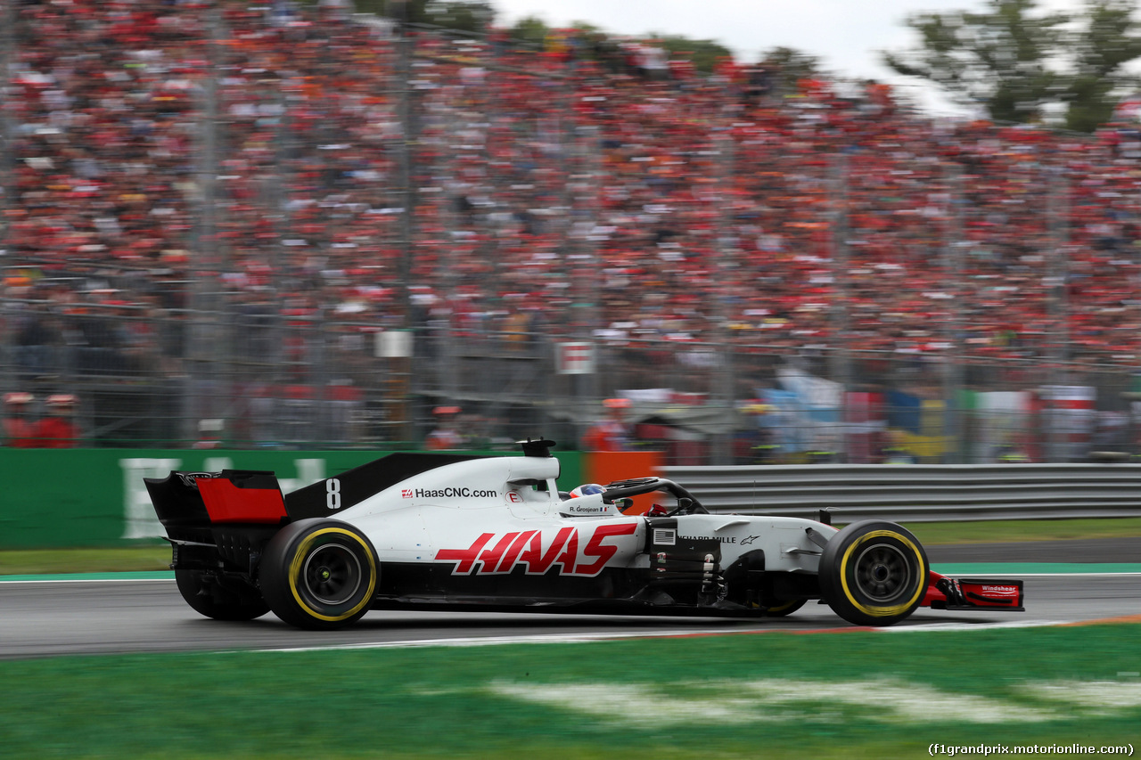 GP ITALIA, 02.09.2018 - Gara, Romain Grosjean (FRA) Haas F1 Team VF-18