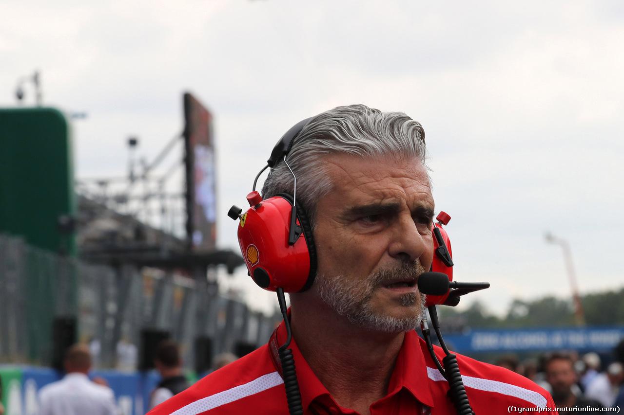 GP ITALIA, 02.09.2018 - Gara, Maurizio Arrivabene (ITA) Ferrari Team Principal