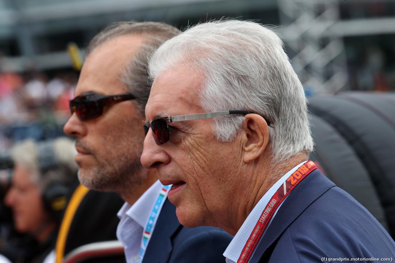 GP ITALIA, 02.09.2018 - Gara, Piero Ferrari (ITA) Vice-President Ferrari