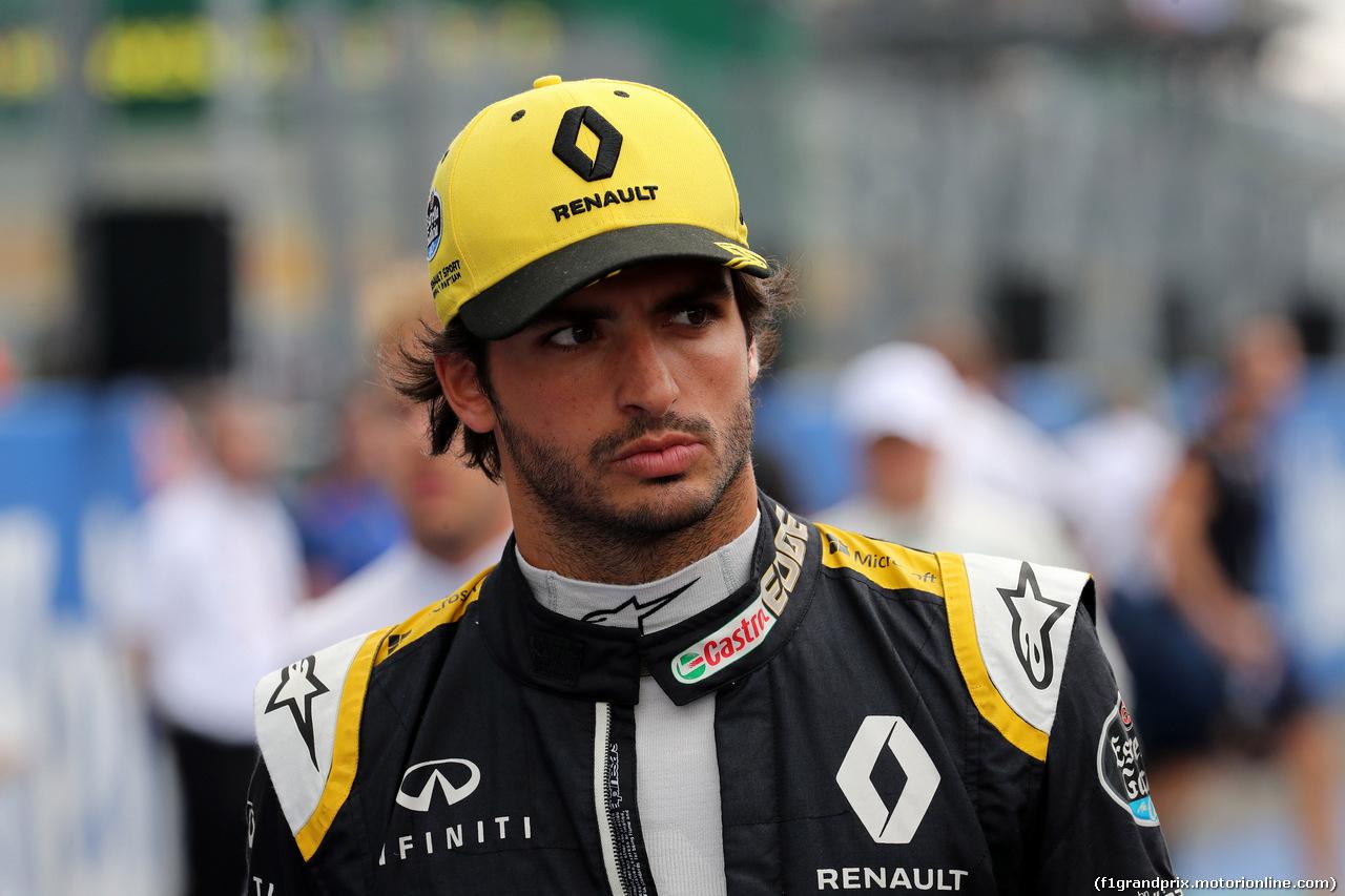 GP ITALIA, 02.09.2018 - Gara, Carlos Sainz Jr (ESP) Renault Sport F1 Team RS18