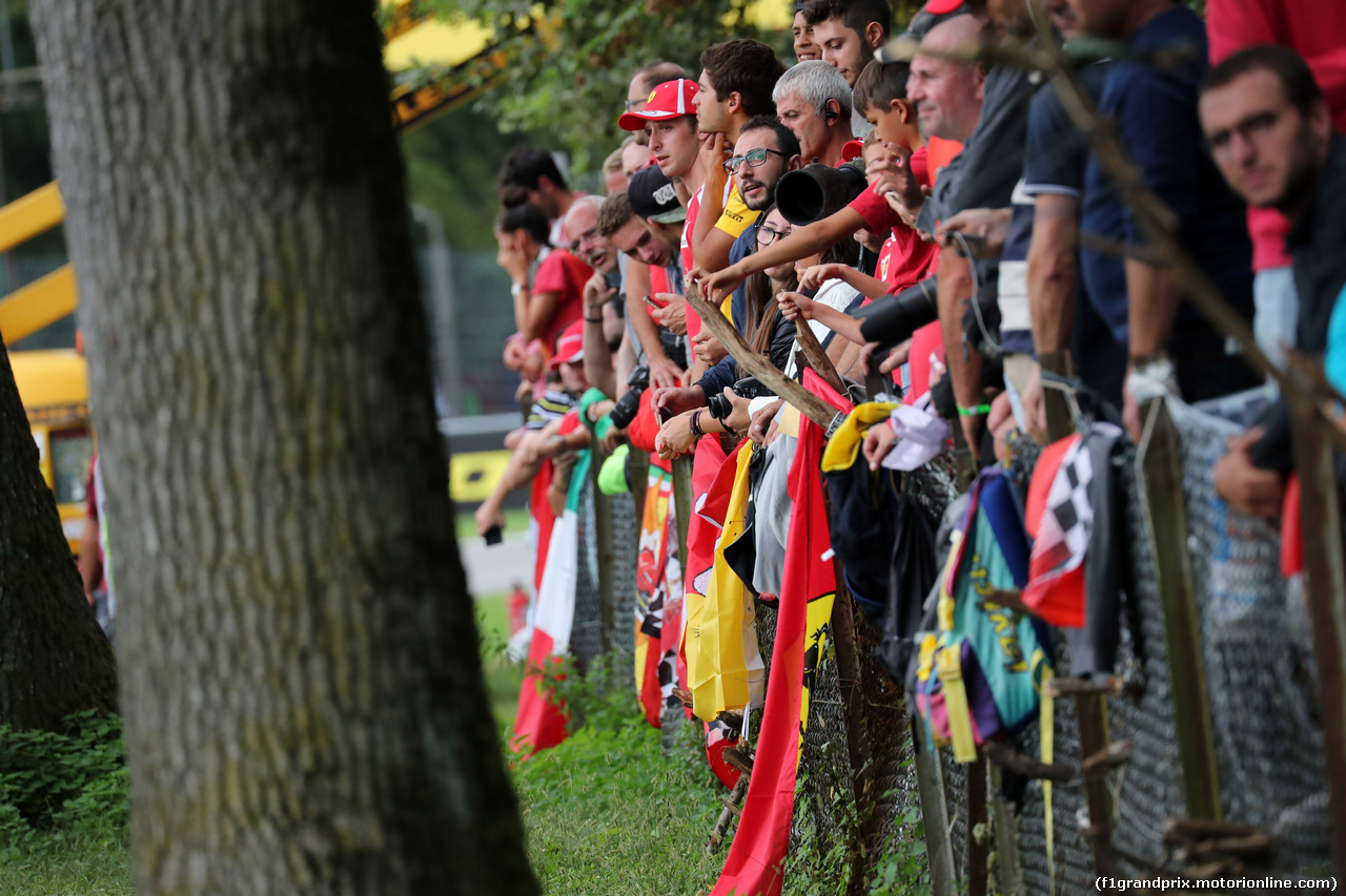 GP ITALIA, 02.09.2018 - Gara, Fans