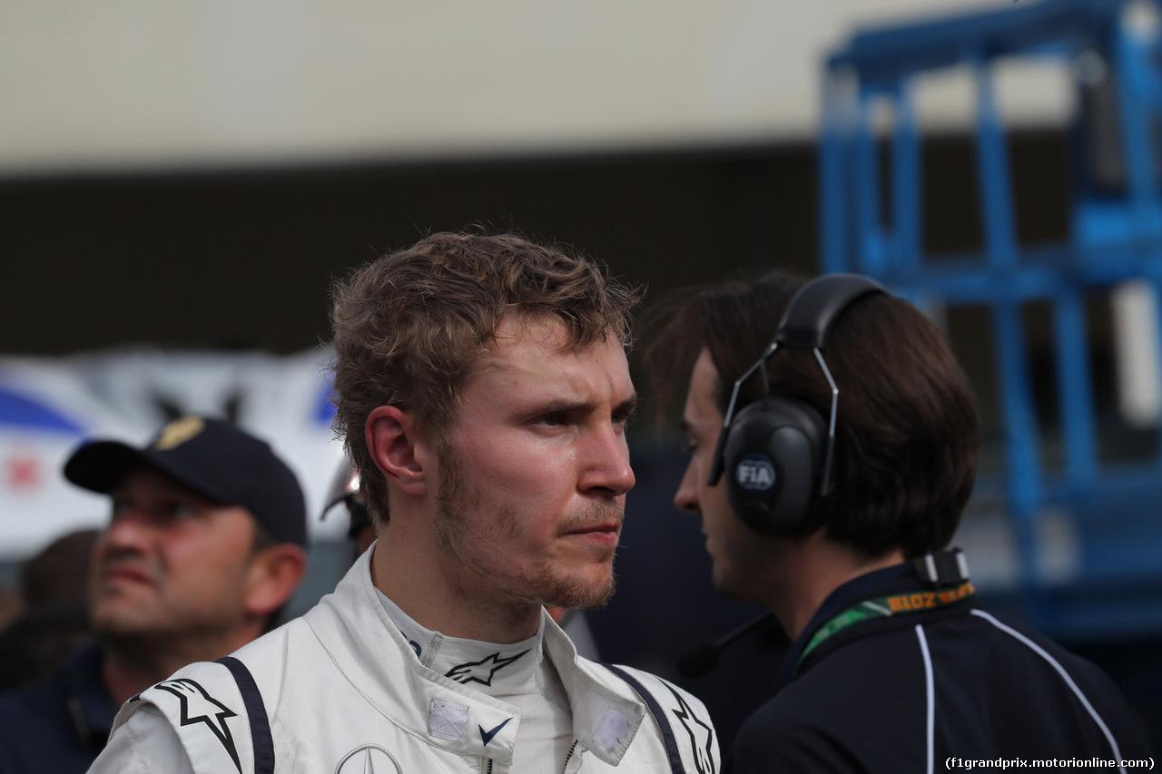 GP ITALIA, 02.09.2018 - Gara, Sergey Sirotkin (RUS) Williams FW41