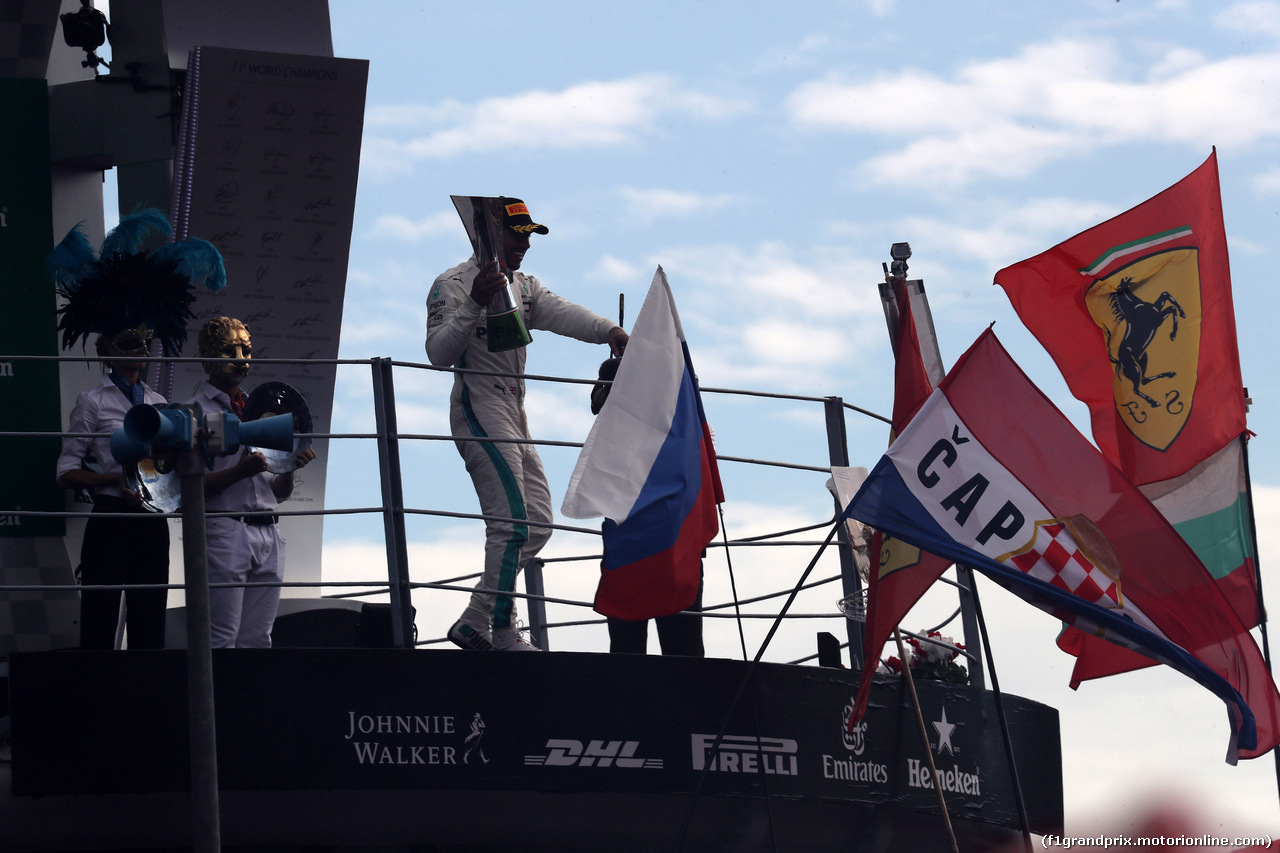 GP ITALIA, 02.09.2018 - Gara, 1st place Lewis Hamilton (GBR) Mercedes AMG F1 W09