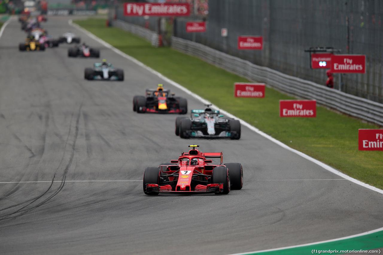 GP ITALIA, 02.09.2018 - Gara, Kimi Raikkonen (FIN) Ferrari SF71H