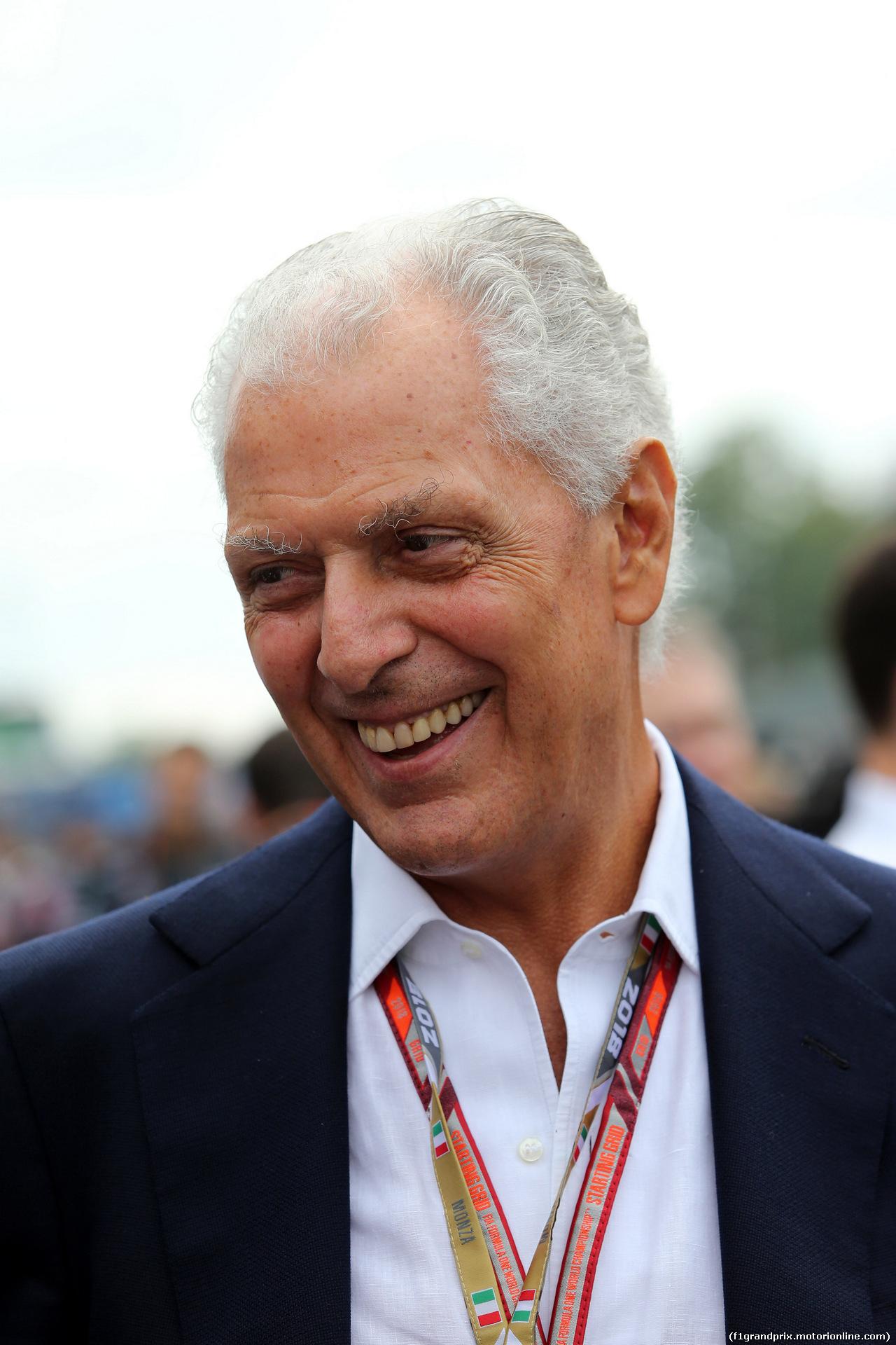 GP ITALIA, 02.09.2018 - Gara, Marco Tronchetti Provera (ITA), Pirelli's President