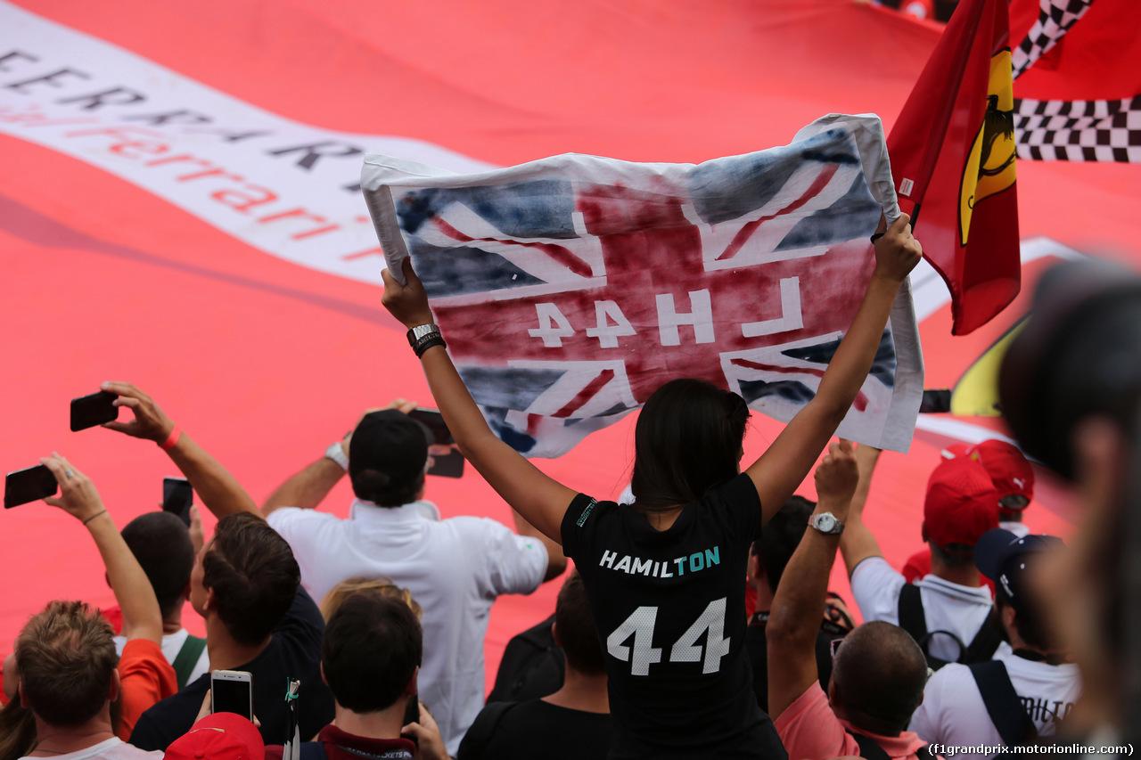 GP ITALIA, 02.09.2018 - Gara, Fans after the race