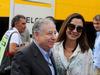 GP ITALIA, 02.09.2018 - Jean Todt (FRA), President FIA e sua moglie Michelle Yeoh