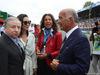 GP ITALIA, 02.09.2018 - Drivers parade, Jean Todt (FRA), President FIA, Michelle Yeoh, wife of Jean Todt (FRA) e Dr. Angelo Sticchi Damiani (ITA) Aci Csai President