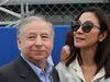 GP ITALIA, 02.09.2018 - Drivers parade, Jean Todt (FRA), President FIA e sua moglie Michelle Yeoh