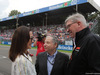 GP ITALIA, 02.09.2018 - Drivers parade, Michelle Yeoh, wife of Jean Todt (FRA), Jean Todt (FRA), President FIA e Ross Brawn (GBR) Formula One Managing Director of Motorsports