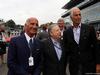 GP ITALIA, 02.09.2018 - Drivers parade, Dr. Angelo Sticchi Damiani (ITA) Aci Csai President, Jean Todt (FRA), President FIA e Giovanni Malagò, CONI President