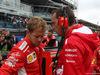 GP ITALIA, 02.09.2018 - Gara, Sebastian Vettel (GER) Ferrari SF71H e Riccardo Adami (ITA) Ferrari Gara Engineer